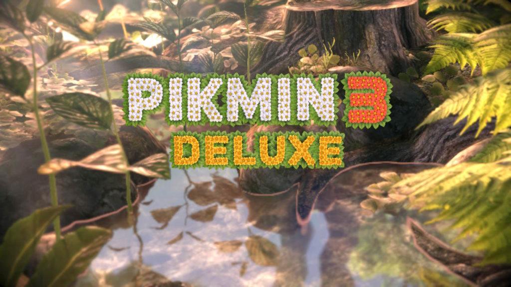 ピクミン3デラックスのタイトル画面
